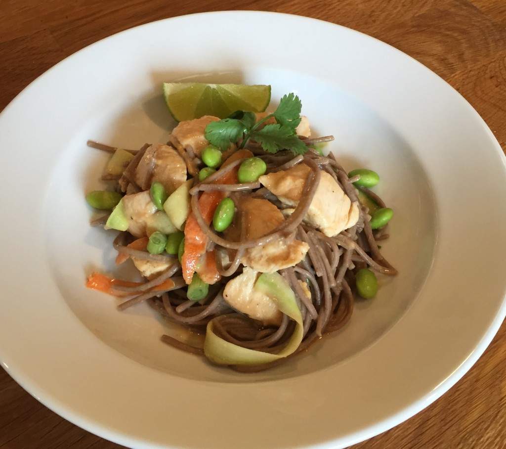 how to cook soba sauce